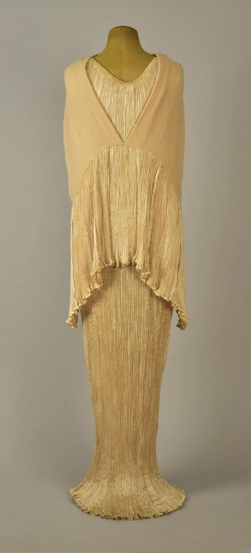 FORTUNY PEPLOS GOWN and CAPE, 1920s - 3