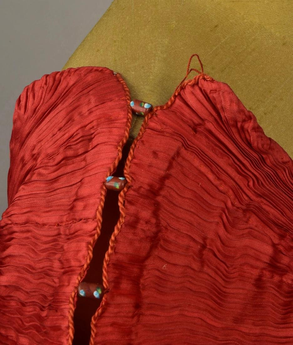 FORTUNY PEPLOS GOWN with STENCILED BELT, 1927 - 6