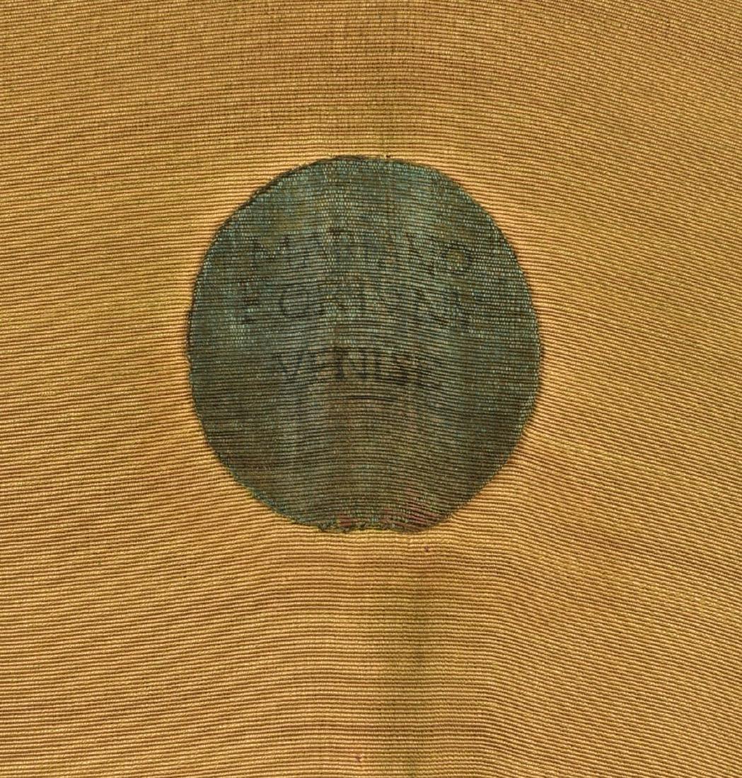 FORTUNY STENCILED VELVET COAT, 1920s - 5