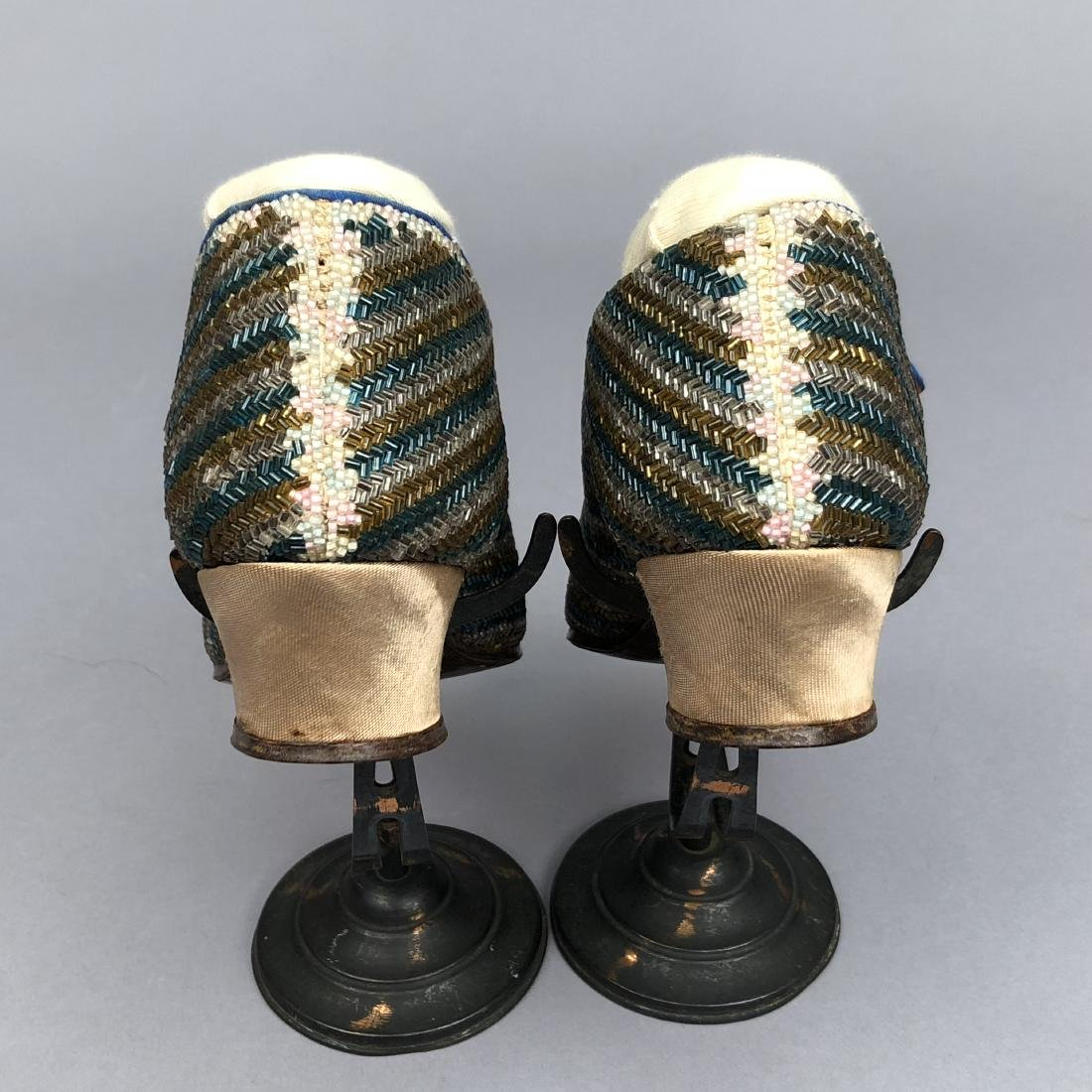 BEADED PUMPS with ANKLE STRAP, c. 1925 - 3