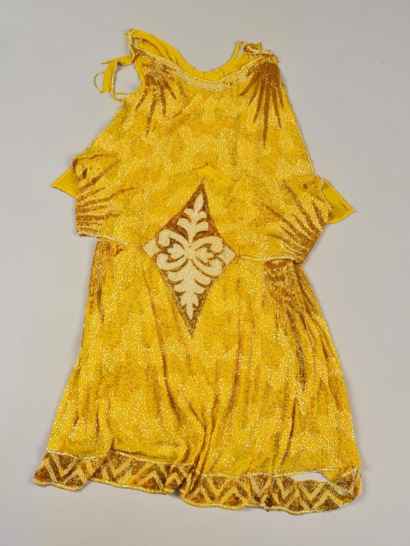 BEADED NET SHEATH, 1930s - 5