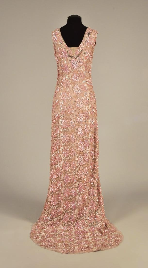 QUEEN MARY'S BEADED and SEQUINED GOWN, 1930s - 2