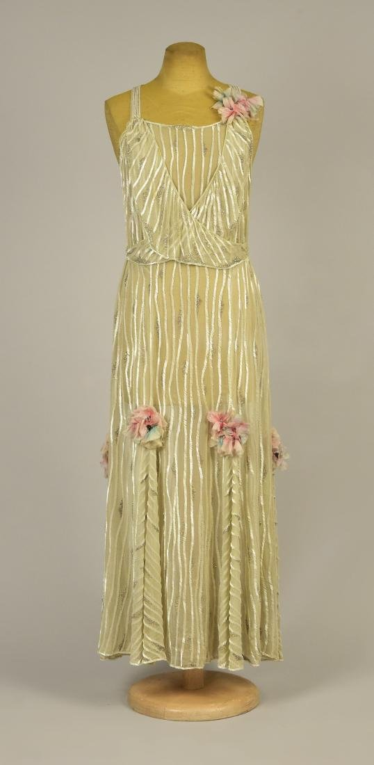 BEADED EVENING GOWN, 1931