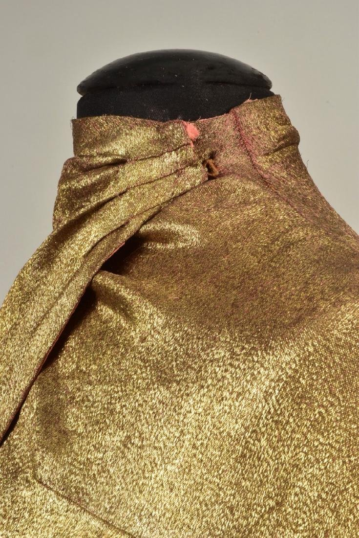 MAGGY ROUFF CLOTH of GOLD EVENING CLOAK, 1930s - 3