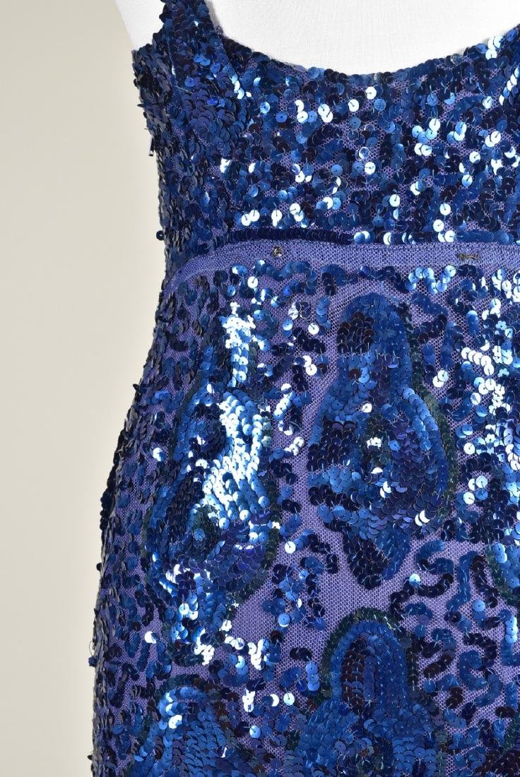 SEQUINNED NET EVENING GOWN c. 1930 - 4