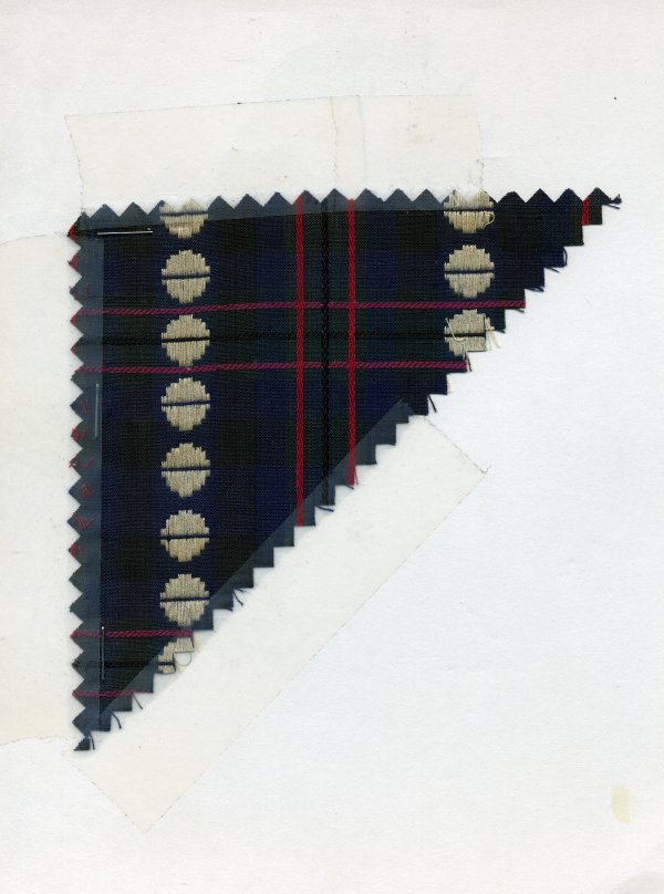 5: LOT of CARDED FABRIC SAMPLES, 1850-1909. Novelty woo