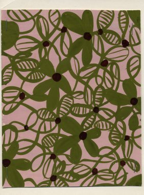16: LOT of CARDED FABRIC DESIGNS, 1930-1960. Original d