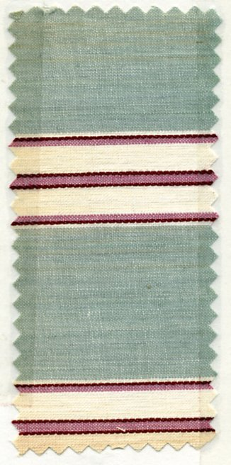 20: LOT of CARDED FABRIC SAMPLES, 1900-1909. Woven cott - 6