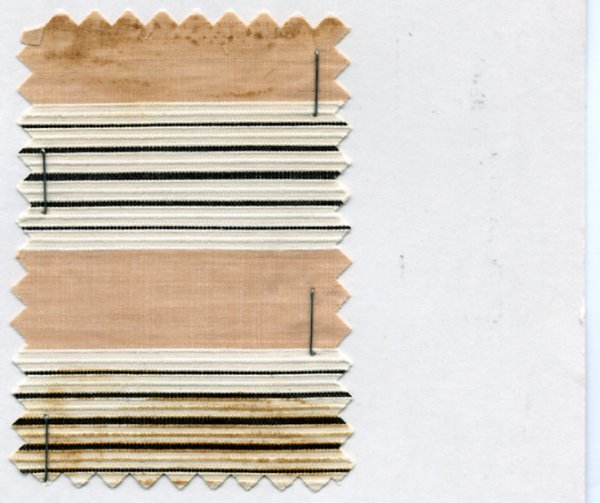 20: LOT of CARDED FABRIC SAMPLES, 1900-1909. Woven cott - 7