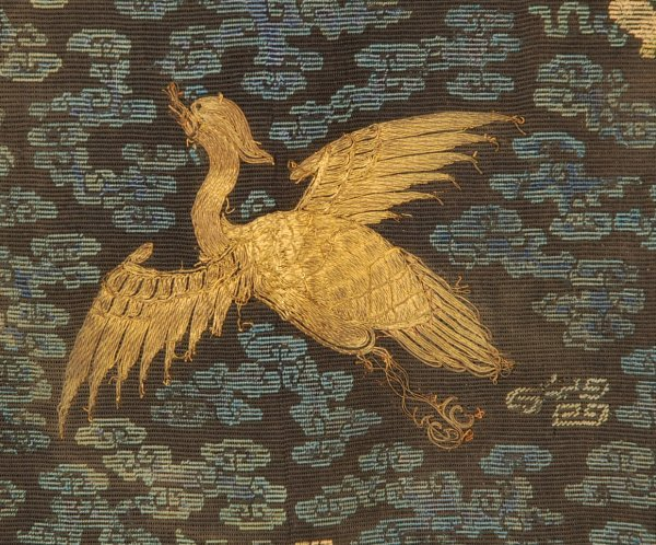 103: PAIR of MANDARIN CHINESE RANK BADGES, 18th C. Kess