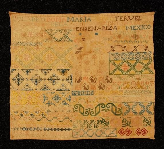 581: MEXICAN CONVENT EMBROIDERY by MARIA PETRA TERUEL,