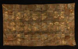 447 JAPANESE KESA 18th19th C Buddhist priests silk
