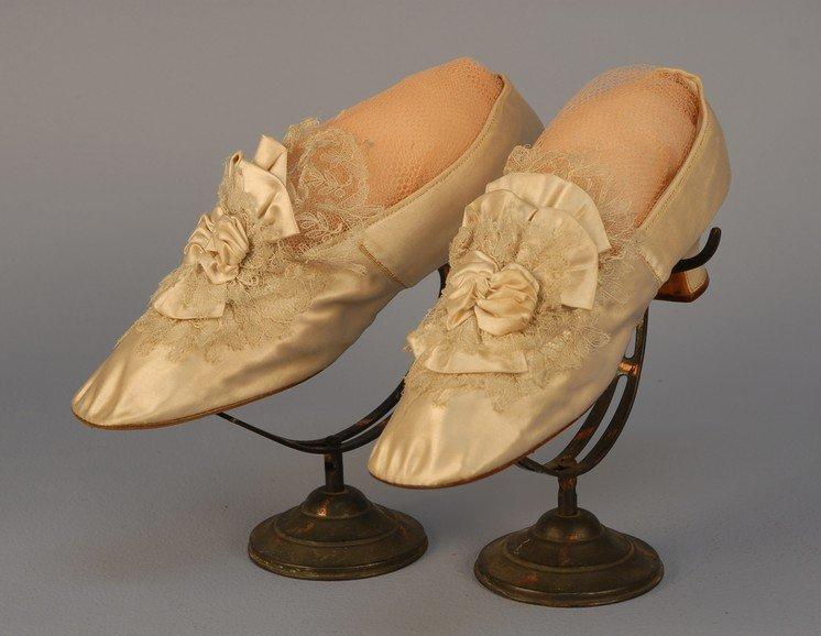 340: FIRST LADY HARRIET LANE JOHNSTON'S PARIS SHOES 187