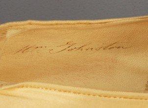 340: FIRST LADY HARRIET LANE JOHNSTON'S PARIS SHOES 187 - 4