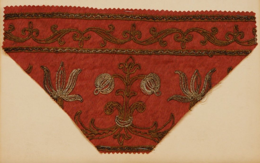 18: LOT of CARDED EMBROIDERY SAMPLES, 19th and 20th C.