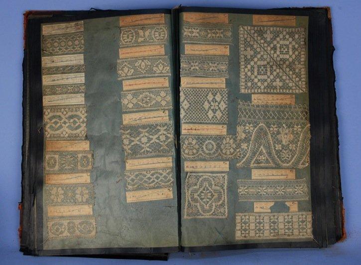 LOT of FABRIC SAMPLE BOOKS, 1930.