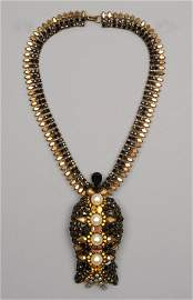 ROGER JEAN PIERRE COUTURE NECKLACE for CRISTOBAL