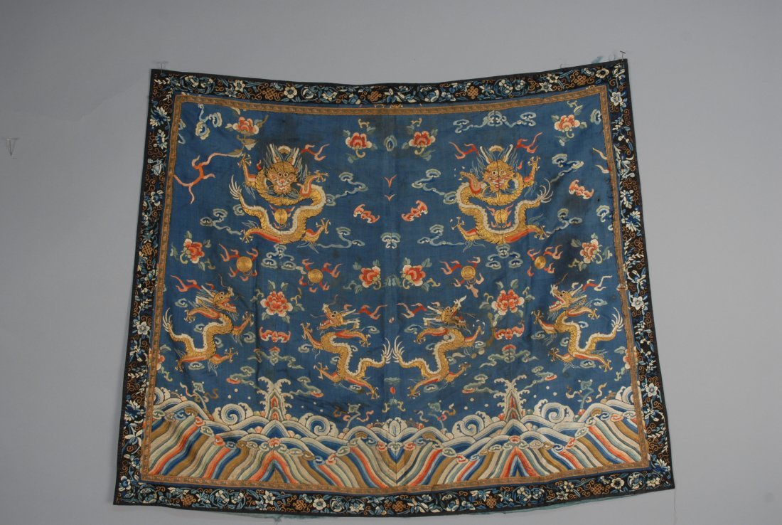 CHINESE EMBROIDERY, 19th C