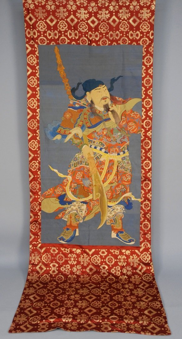 CHINESE KESI TAPESTRY, 20th C.
