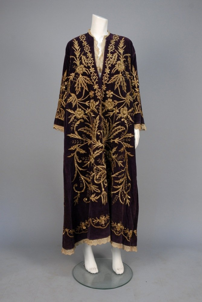 TURKISH METALLIC EMBROIDERED WEDDING TUNIC, LATE 19th -