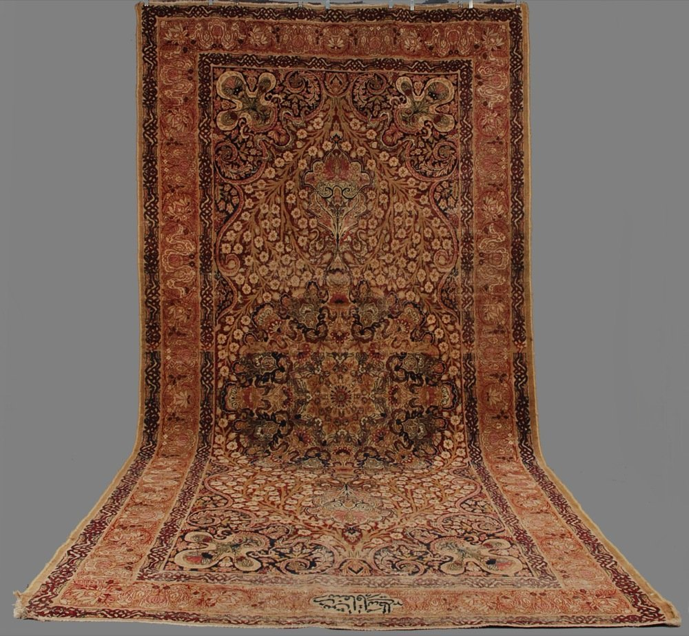 LAVAR KERMAN CORRIDOR CARPET, LATE 19th C. Typical