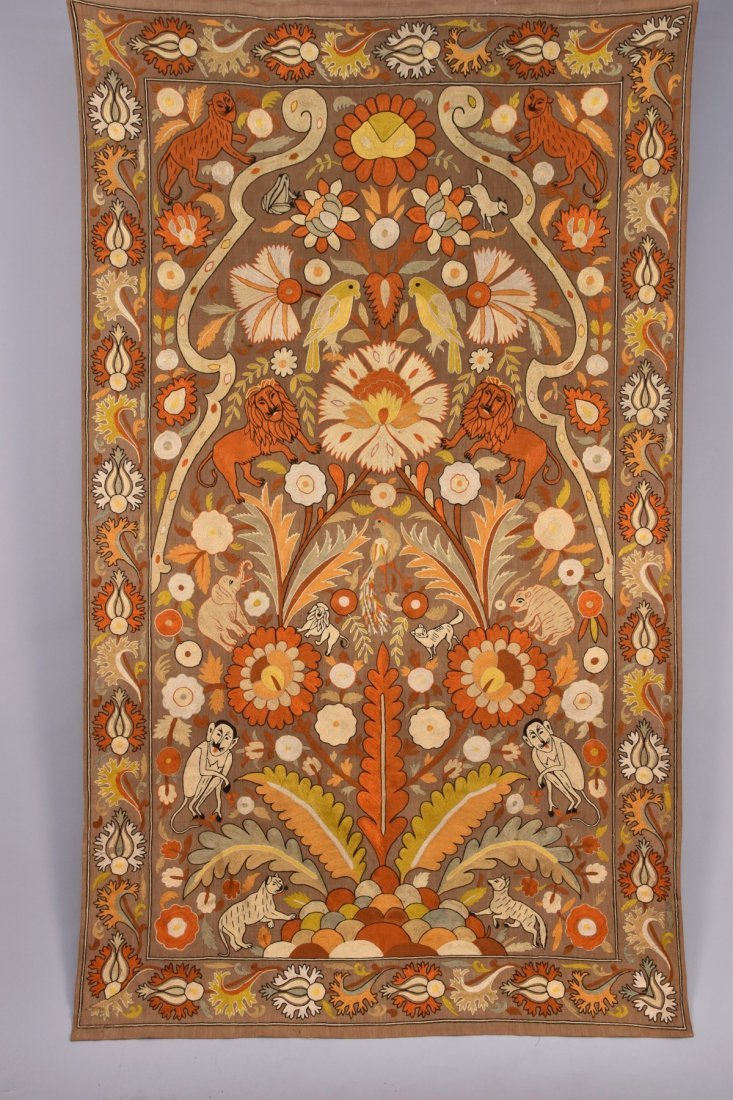 MIDDLE EASTERN EMBROIDERY, 20th C.