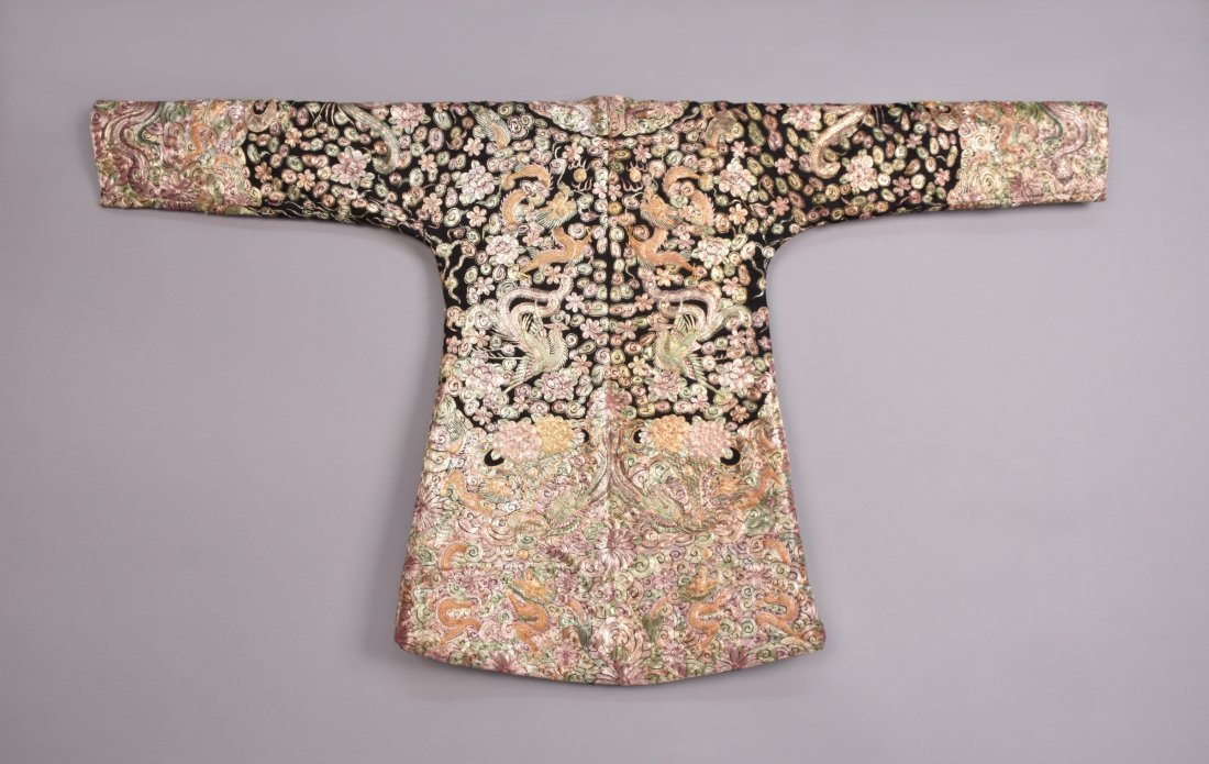 LADYS CHINESE METALLIC EMBROIDERED JACKET, MID 20th C. - 5