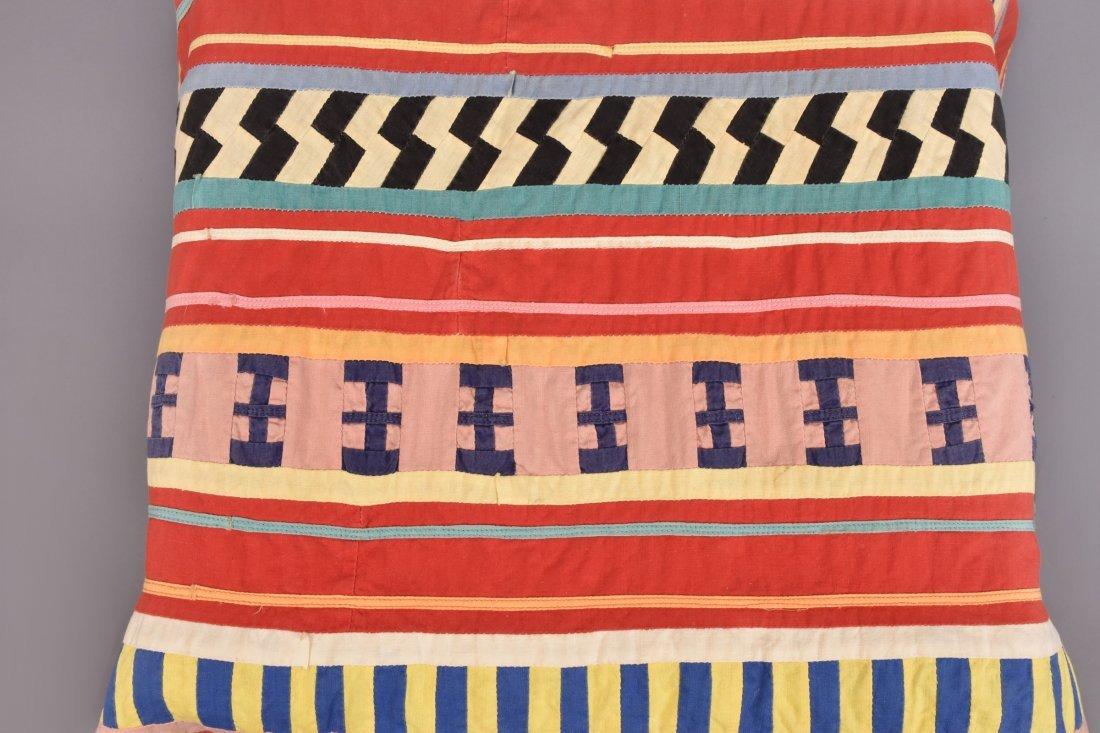 SEMINOLE PIECED COTTON SKIRT, c. 1960 - 2
