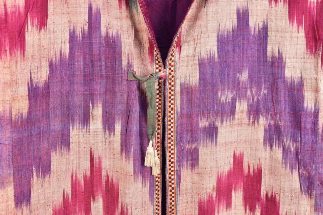 SILK IKAT ROBE, IRAN, 20th C - 2