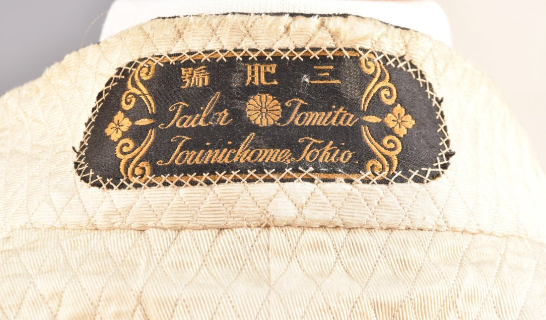 JAPANESE METALLIC EMBROIDERED COURT UNIFORM, c. 1900 - 6