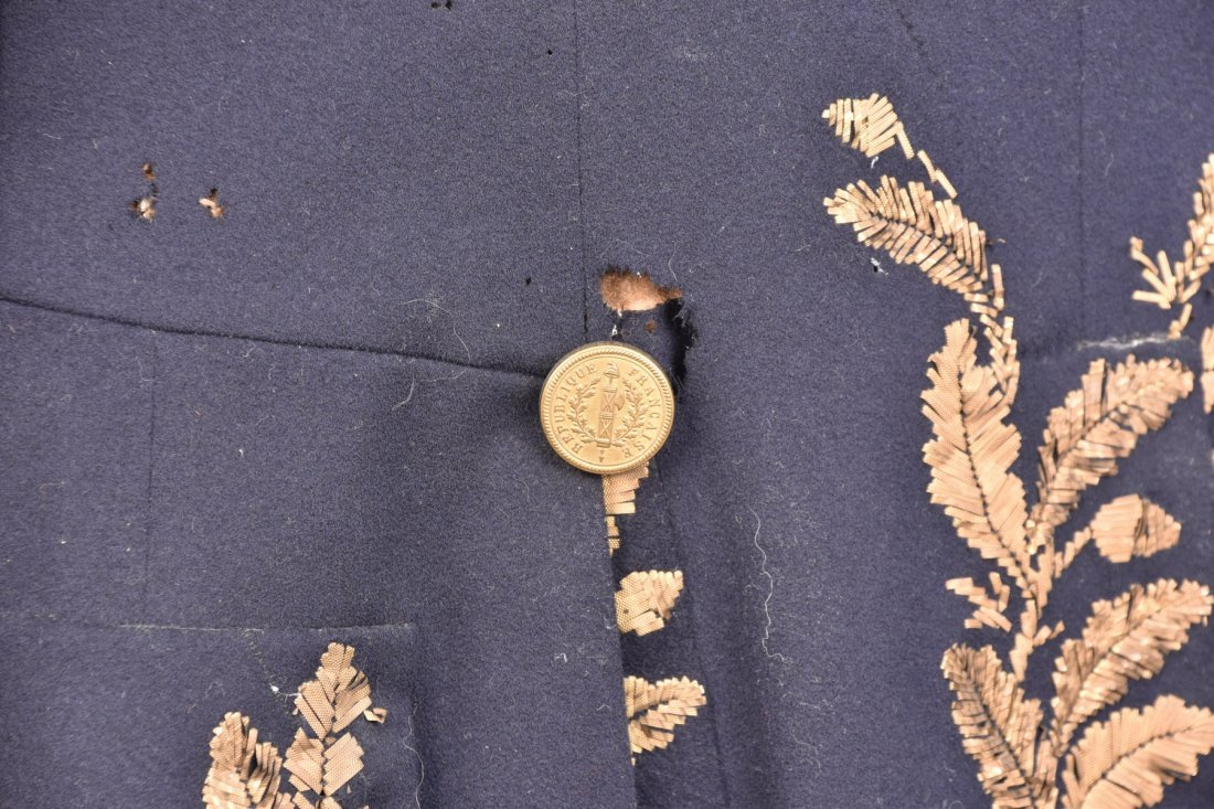 FRENCH OFFICER'S UNIFORM COAT, 19th C. - 3