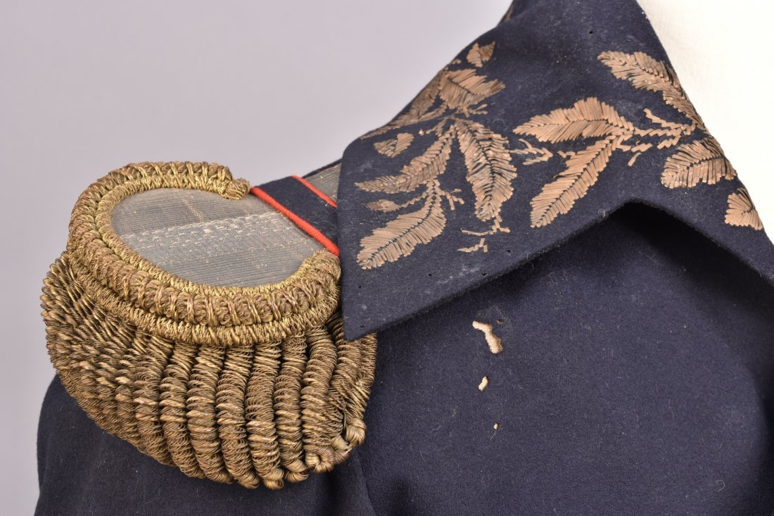 FRENCH OFFICER'S UNIFORM COAT, 19th C. - 4