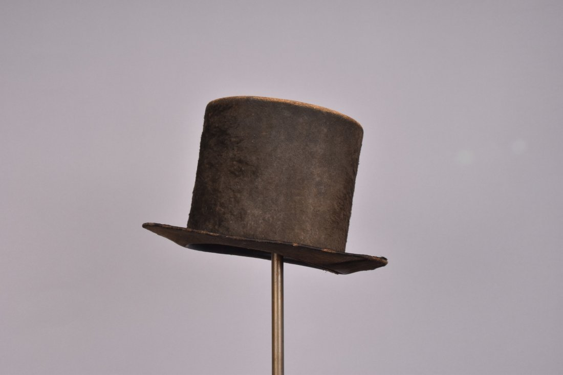 GENTS WOOL TOP HAT, ENGLAND, 1820-1830