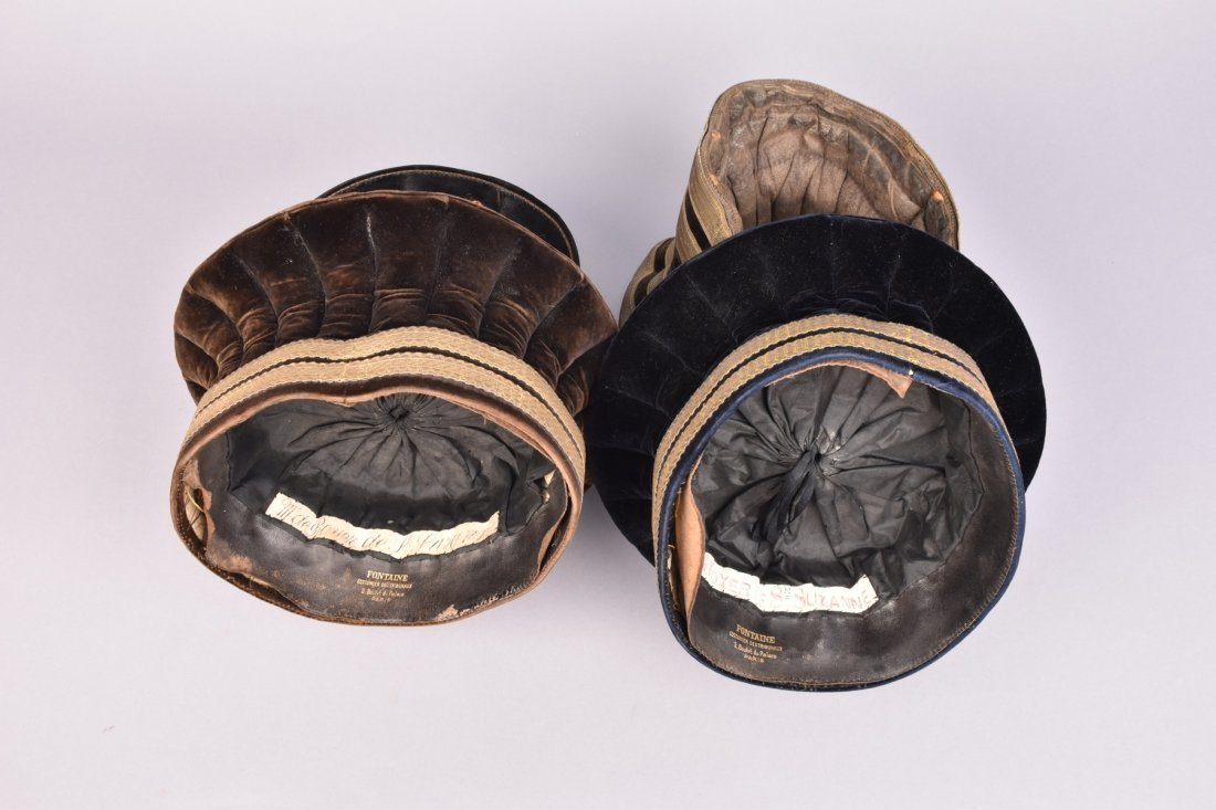 THREE FRENCH MUNICIPAL OFFICIAL HATS, 19th -EARLY 20th - 2