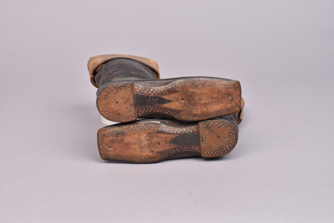 CHILDS or SALESMAN SAMPLE BOOTS, MID 19th C. - 2