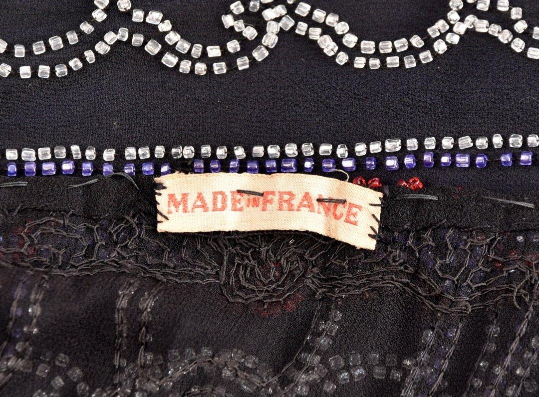 LARGE SIZE BEADED DRESS, 1920s - 5