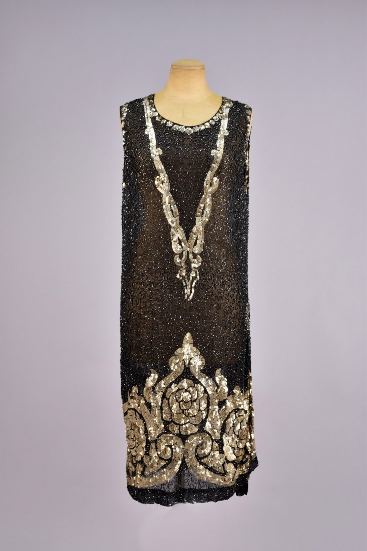 BEADED and SEQUINED DRESS, 1920s