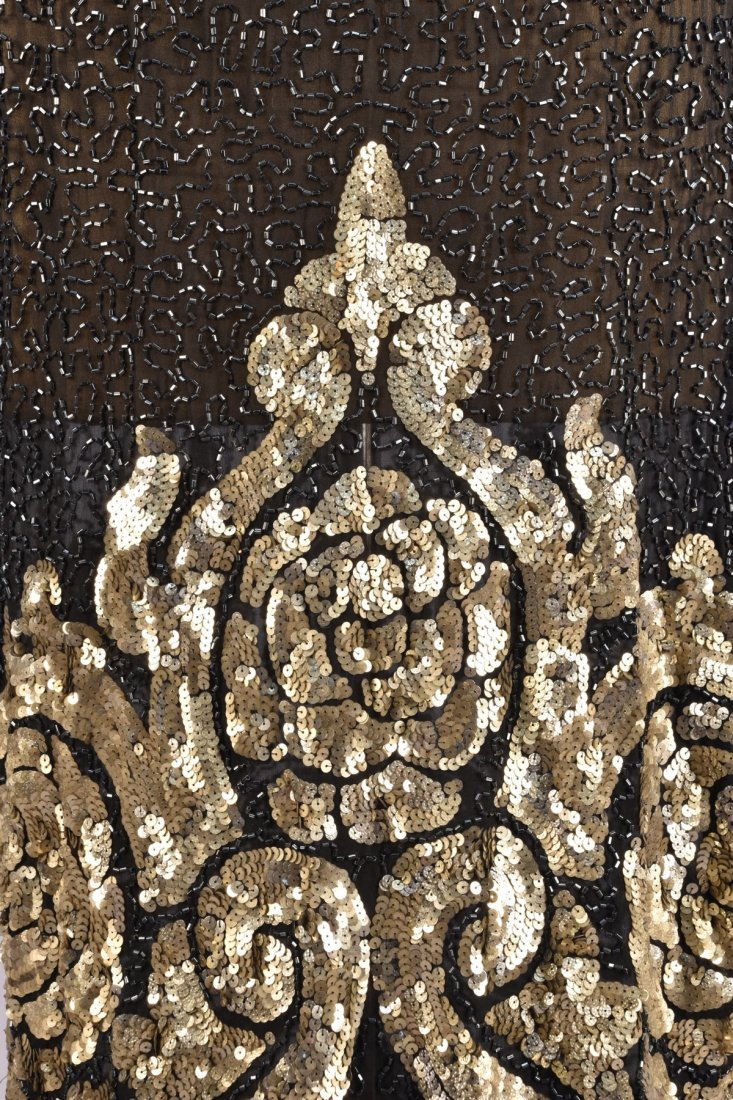 BEADED and SEQUINED DRESS, 1920s - 3