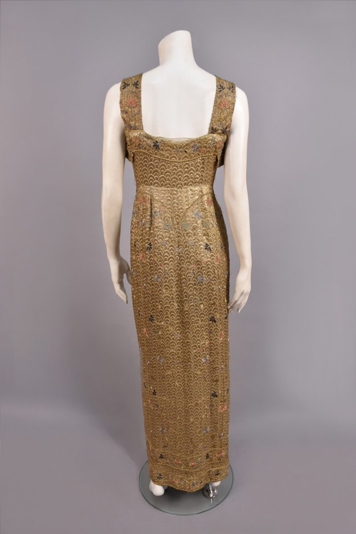 SUZANNE TALBOT METALLIC EVENING ENSEMBLE, c. 1930 - 3