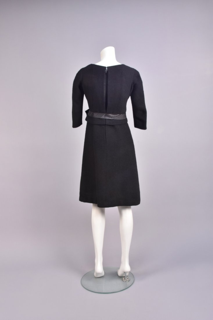 BALENCIAGA WOOL BOUCLE COCKTAIL DRESS, 1950s - 2