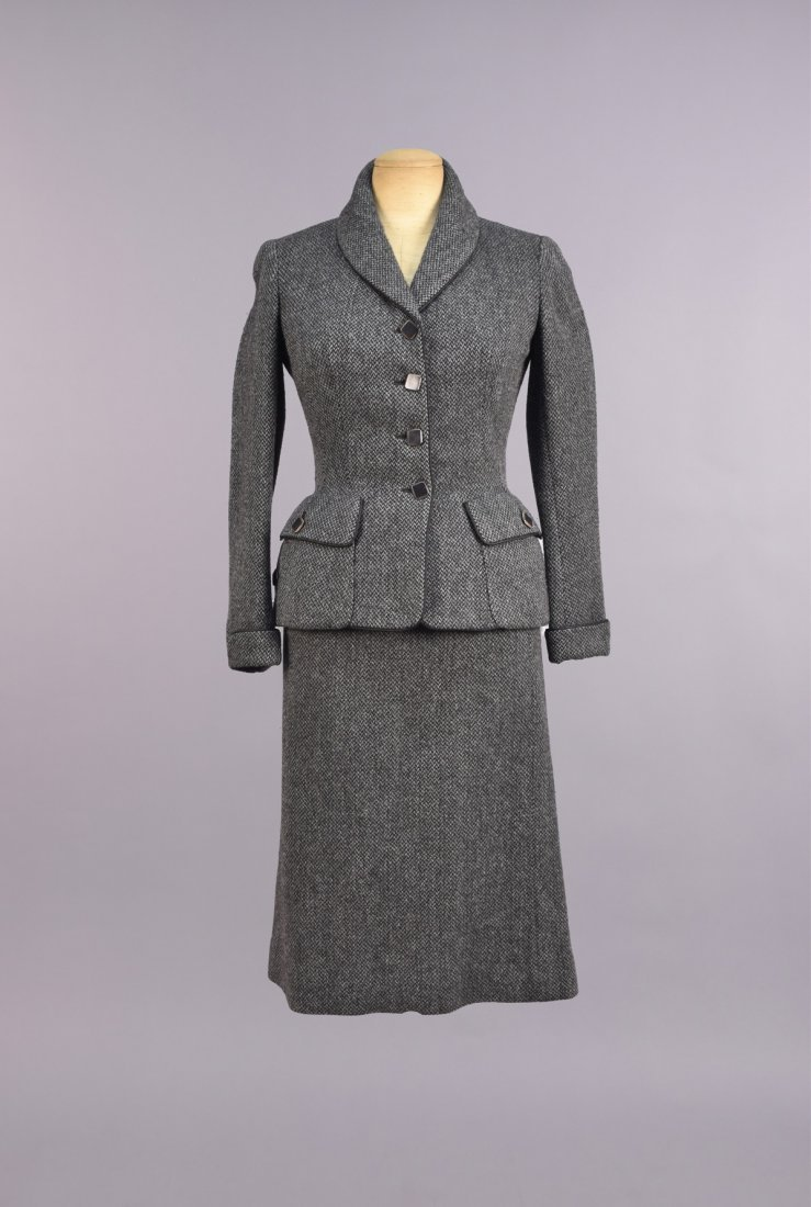 CREED LONDON 3-PIECE WOOL ENSEMBLE, 1950s - 2