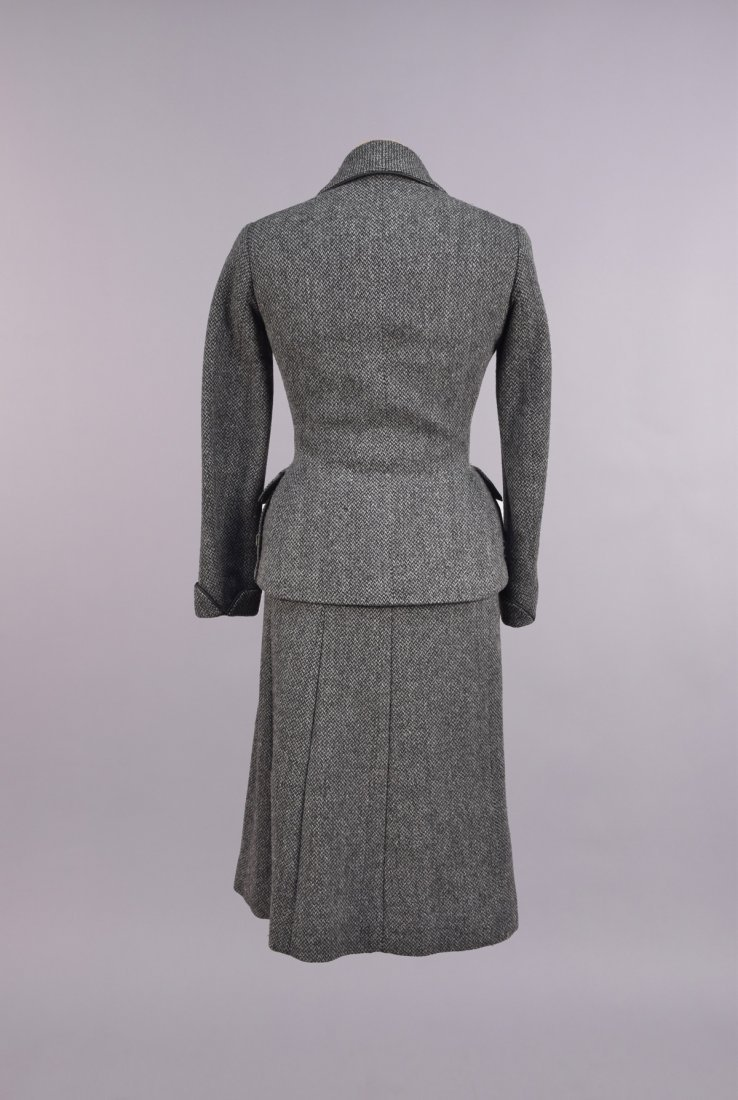 CREED LONDON 3-PIECE WOOL ENSEMBLE, 1950s - 3