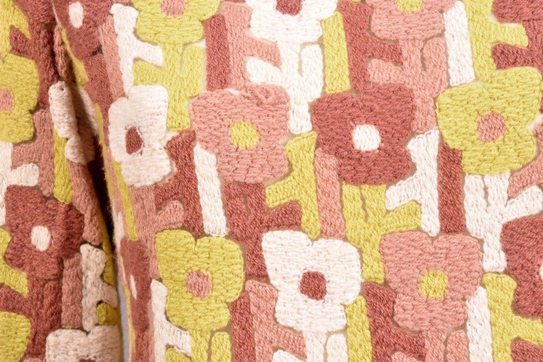 PIERRE CARDIN NOVELTY WEAVE WOOL PANTSUIT, 1960s. - 2
