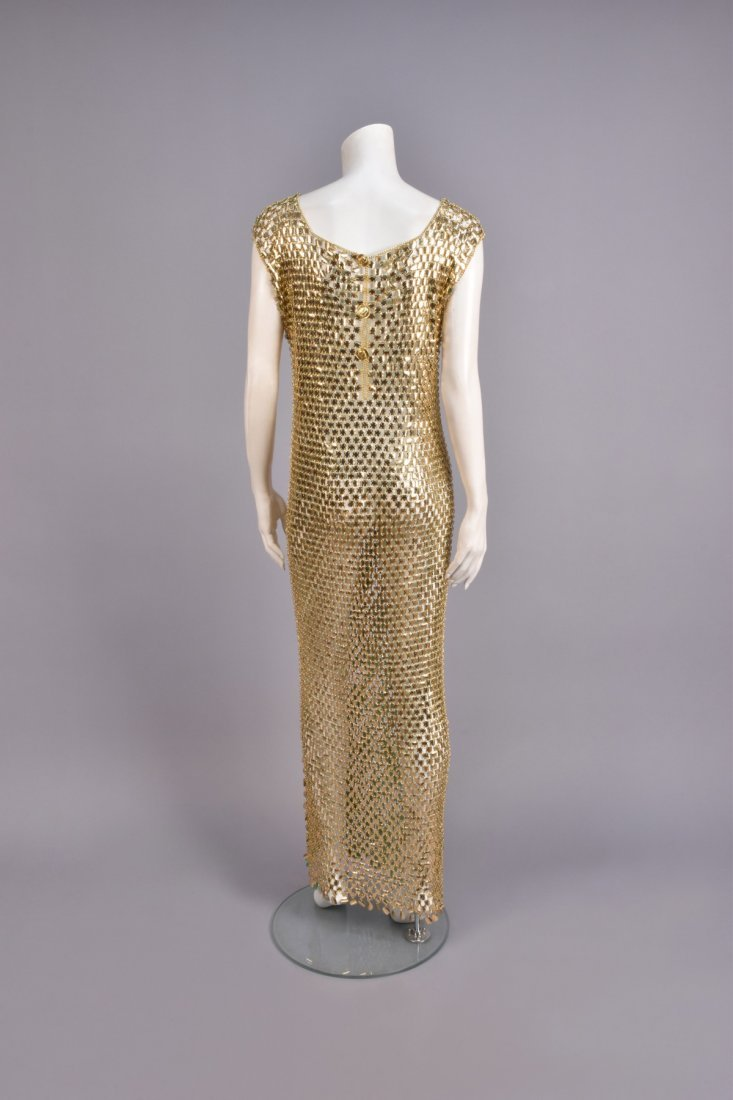 SEQUINED CHAIN MAIL SHEATH, c. 1966 - 2