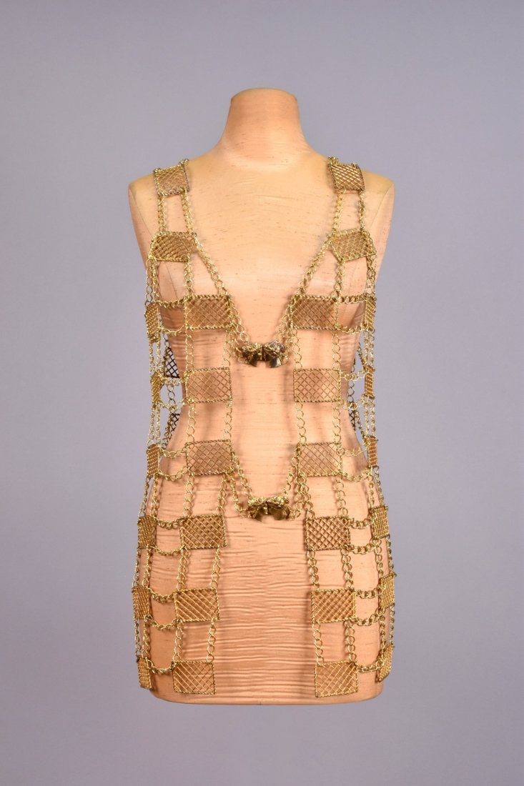 CHAIN LINK VEST with METAL PLATES, 1960s