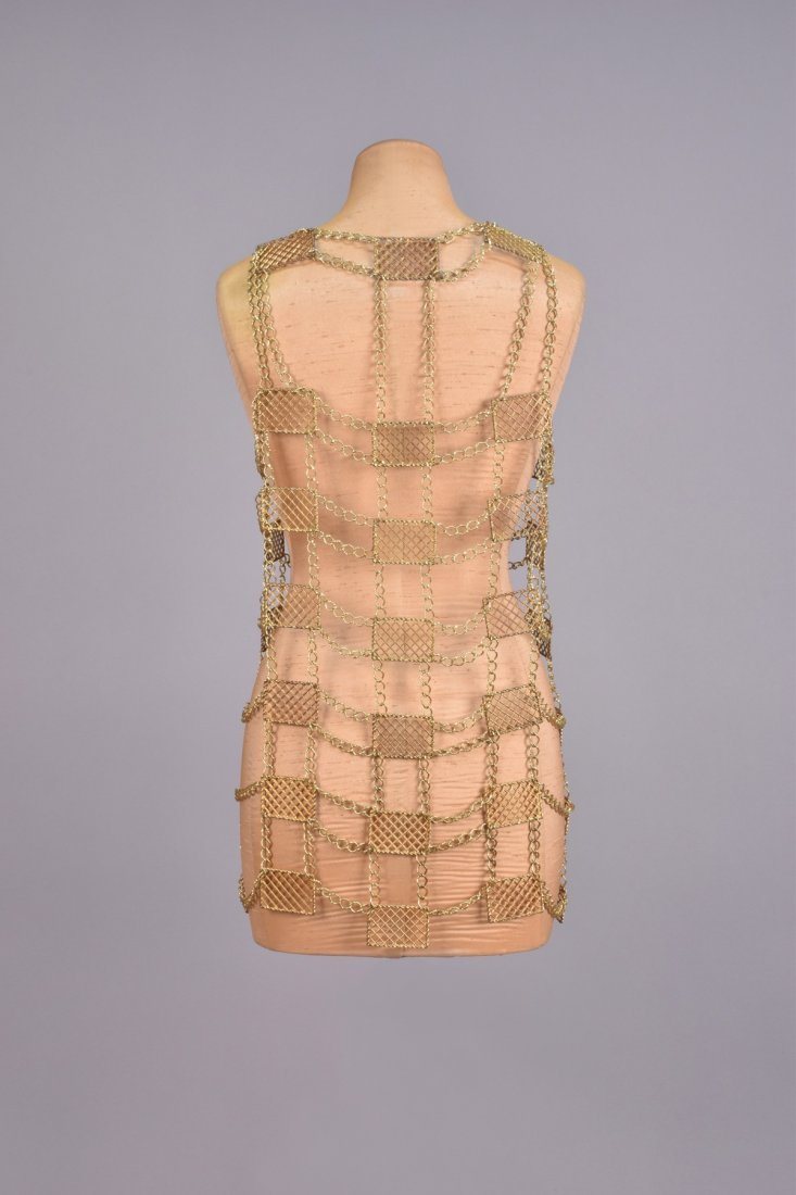 CHAIN LINK VEST with METAL PLATES, 1960s - 2