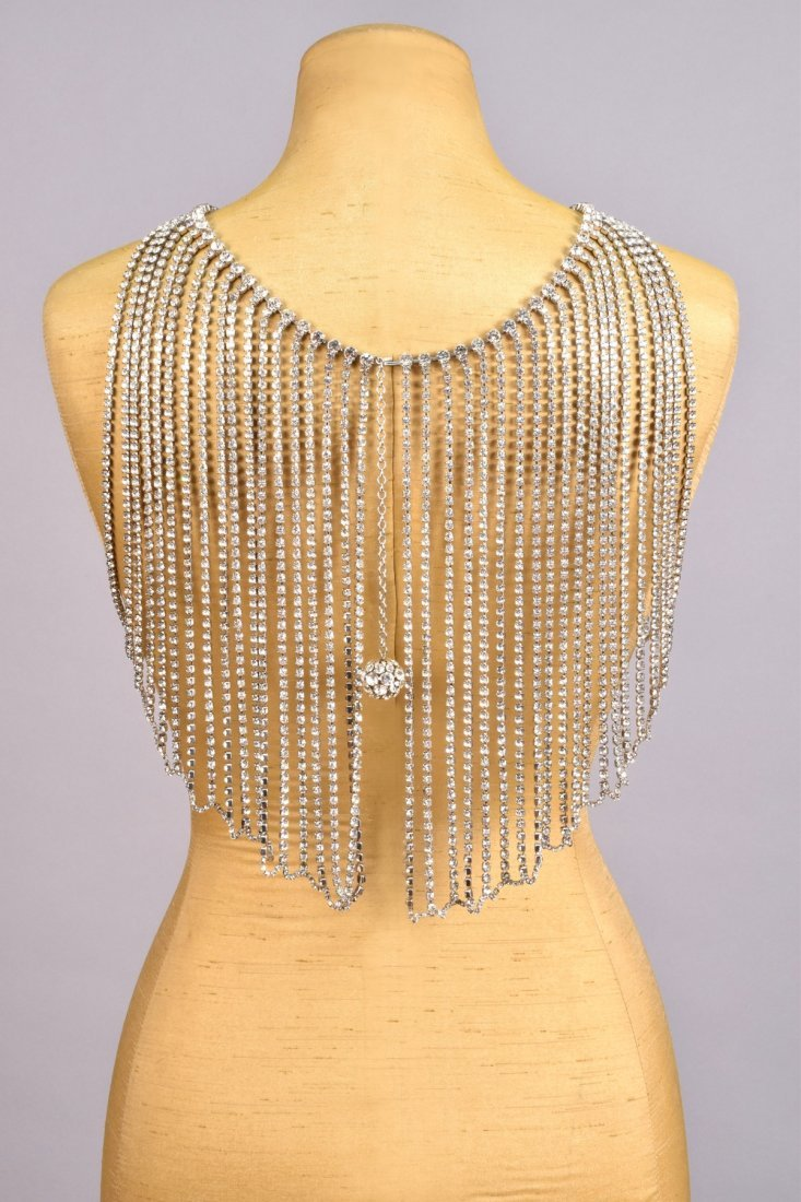 RARE BILL SMITH BODY JEWELRY RHINESTONE BODICE, c. - 2