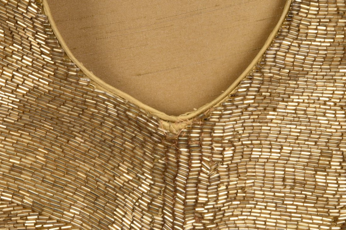 GOLD BEADED LONG SHEATH, MID 20th C. - 4