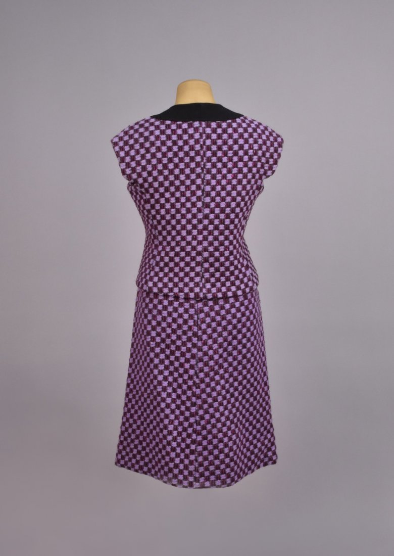 PIERRE CARDIN WOOL SKIRT and VEST ENSEMBLE, 1960s. - 2