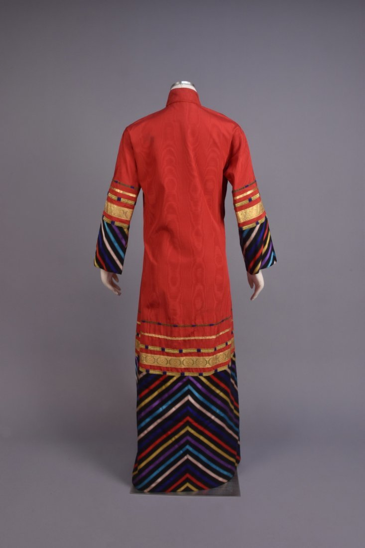 SANT'ANGELO CHINESE-INSPIRED SILK ROBE, 1970s - 2